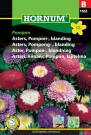 Asters, Pompong- , blanding 'Pompon' (Callistephus chinensis) thumbnail